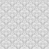 Damask seamless pattern background. Classical luxury old fashioned damask ornament, royal victorian seamless texture. Vector damask seamless pattern background Stock Photography
