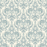 Damask seamless pattern background. Classical luxury old fashioned damask ornament, royal victorian seamless texture. Vector damask seamless pattern background Royalty Free Stock Photo