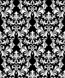 Damask seamless pattern background Royalty Free Stock Images