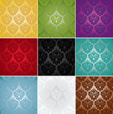 Damask Seamless Pattern stock illustration
