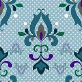 Damask seamless pattern for design. Stock Photography