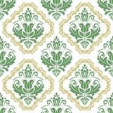 Damask Seamless  Pattern Royalty Free Stock Photography