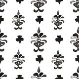 Damask seamless pattern. Stock Photo