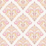 Damask Seamless  Pattern. Orient Background Royalty Free Stock Image