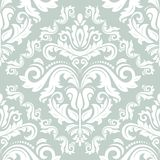 Damask Seamless  Pattern. Orient Background Stock Images