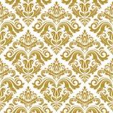 Damask Seamless  Pattern. Orient Background Stock Photography