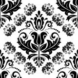 Damask Seamless  Pattern. Orient Background Royalty Free Stock Photo