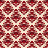 Damask seamless  pattern oriental  motif Stock Photo