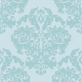 Damask seamless pattern,pistachio color. Damask sealess pattern with pistachio color and flower swirls Royalty Free Stock Image