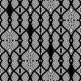 Damask seamless pattern Royalty Free Stock Images