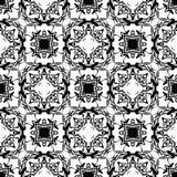 Damask seamless pattern Stock Images