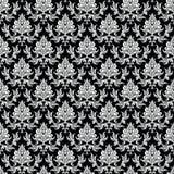 Damask seamless pattern Royalty Free Stock Photos