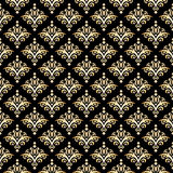 Damask Seamless Pattern Stock Photography