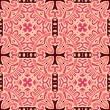 Damask seamless pattern tiles Stock Images