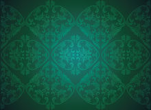 Damask seamless pattern in vector Royalty Free Stock Images