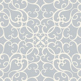 Damask with Seamless Pattern Vector Royalty Free Stock Photo