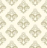 Damask seamless pattern. Stock Image