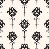 Damask seamless pattern Stock Image