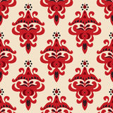Damask seamless Pattern Vector Royalty Free Stock Images