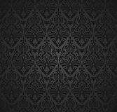 Damask seamless pattern and wallpaper Stock Images