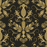 Damask seamless patterns wallpapers Stock Photography