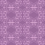 Damask seamless purple pattern Royalty Free Stock Photo