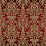 Damask seamless silk. Seamless floral pattern for design, vector Illustration vector illustration