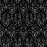 Damask seamless texture Stock Photos