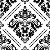 Damask Seamless Vector Background Royalty Free Stock Photos