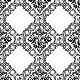 Damask Seamless Vector Background Royalty Free Stock Photography