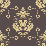 Damask Seamless Vector Background Stock Images