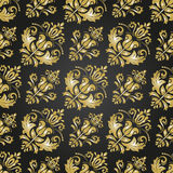 Damask Seamless Vector Background Stock Photography