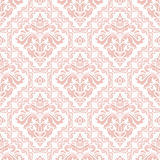 Damask Seamless Vector Background Royalty Free Stock Images