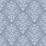 Damask seamless vector pattern. Damask seamless pattern for design. Vector Illustration royalty free stock photos