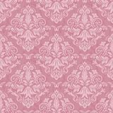 Damask seamless vector pattern. Damask seamless pattern for design. Vector Illustration royalty free illustration