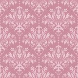 Damask seamless vector pattern. Damask seamless pattern for design. Vector Illustration stock image