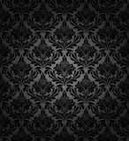 Damask seamless vector pattern Stock Photos