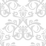 Damask Seamless Vector Pattern Royalty Free Stock Images