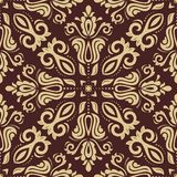 Damask Seamless Vector Pattern. Orient Background Stock Images