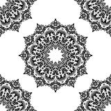 Damask Seamless Vector Pattern. Orient Background Royalty Free Stock Photos
