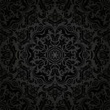 Damask Seamless Vector Pattern. Orient Background Stock Photo