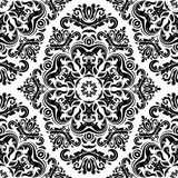 Damask Seamless Vector Pattern. Orient Background Royalty Free Stock Images