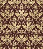 Damask Seamless Vector Pattern. Orient Background Stock Photos