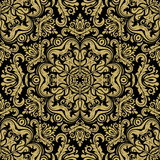 Damask Seamless Vector Pattern Stock Photo