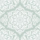 Damask Seamless Vector Pattern Royalty Free Stock Image