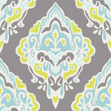 Damask seamless vintage luxury ornamental vector Royalty Free Stock Images