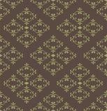 Damask seamless pattern. Damask seamless vintage wallpaper pattern royalty free illustration