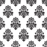 Damask seamless wallpaper Royalty Free Stock Photo