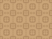 Damask seamless wallpaper pattern Stock Image