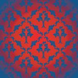 Damask texture Stock Image